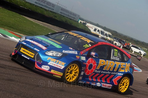 Andrew Jordan during the BTCC Weekend at Thruxton, May 2016