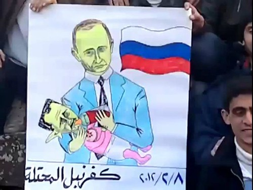 Russia's Putin Feeding Bashar Assad  Syrian's ...