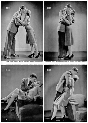 1942 ... how to kiss!