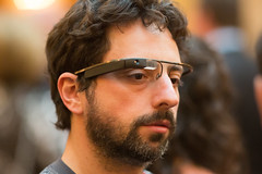 Google Co-Founder Sergey Brin Sports the New G...