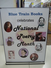 Blue Train Books Celebrates National Poetry Mo...