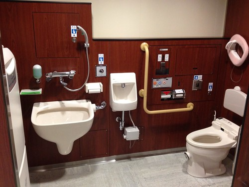 Multifunction toilet