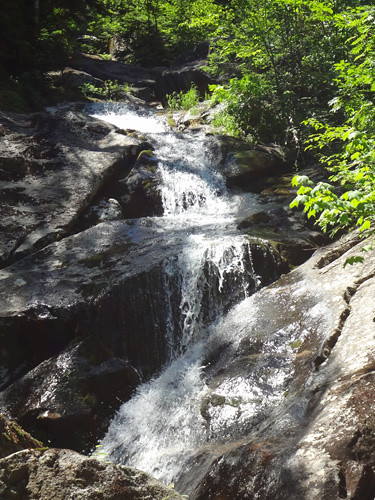 Beaver Brook Cascades on Mt. Moosilauke
