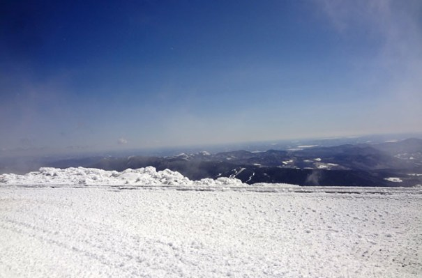 Mt. Washington Winter Wildcat View