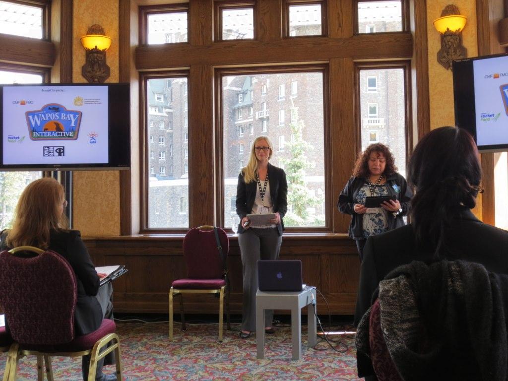SMPIA in the Telefilm Demo Hub - Banff World Media Festival 2012
