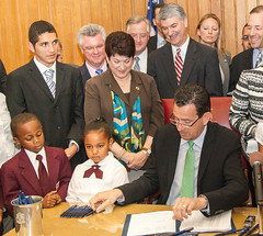 Education Reform Bill Signed Into Law