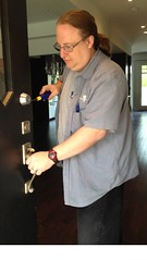 "Locksmith installs Mul-T-Lock Deadbolt • <a style=""font-size:0.8em;"" href=""http://www.flickr.com/photos/61091887@N02/7244827228/"" target=""_blank"">View on Flickr</a>"