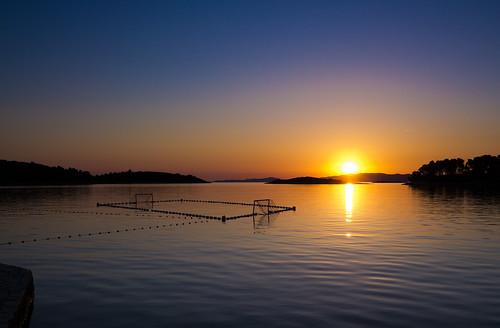 Mljet at sunset