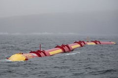 Pelamis P2 wave energy device