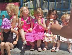 ice cream in the sun
