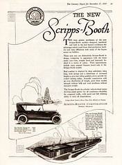 1920 Scripps-Booth Touring Car & Factory