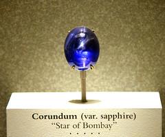 Star of Bombay corundum sapphire - Smithsonian...