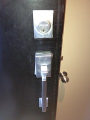 "Schlage Addison Gripset Repaired by Toronto Locksmith Spadina Security • <a style=""font-size:0.8em;"" href=""http://www.flickr.com/photos/61091887@N02/7244470446/"" target=""_blank"">View on Flickr</a>"