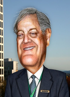 David Koch - Caricature