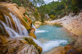 Cascada en Rio Borosa