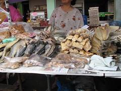 Fish at Kuching weekend market