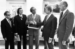 President Jimmy Carter and Governor Bordallo