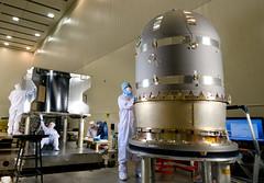 MAVEN Propulsion Tank Installation