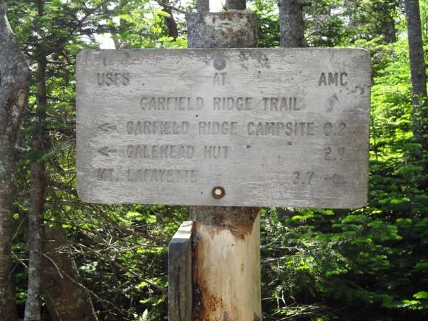 Garfield Trail Sign