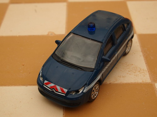 Citroën C4 Gendarmerie model