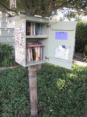 """Little Free Library"" on 16th Ave S."