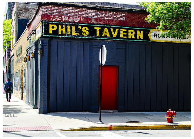 Red Door at Phil's Tavern