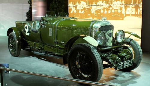 Bentley Le Mans winner