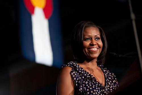 Michelle Obama in Pueblo - June 20