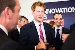 Prince Harry helps promote Britain at New York...