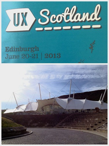 Today is all about...UX Scotland