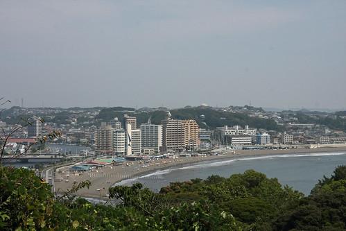 江の島(片瀬海岸)(Katase Beach, Enoshima Island, Kanagawa, Japan)