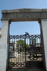 Canal street gates