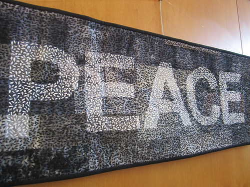 Peace quilt at WBUUC