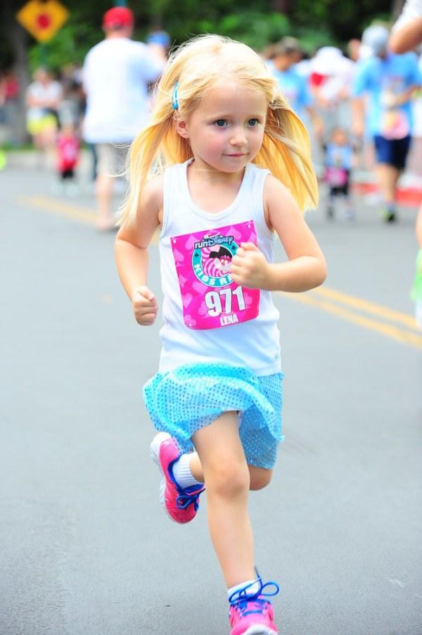 L at RunDisney Kid's Races