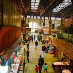 The old mercado del puerto