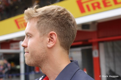 Sebastian Vettel at the 2013 Spanish Grand Prix