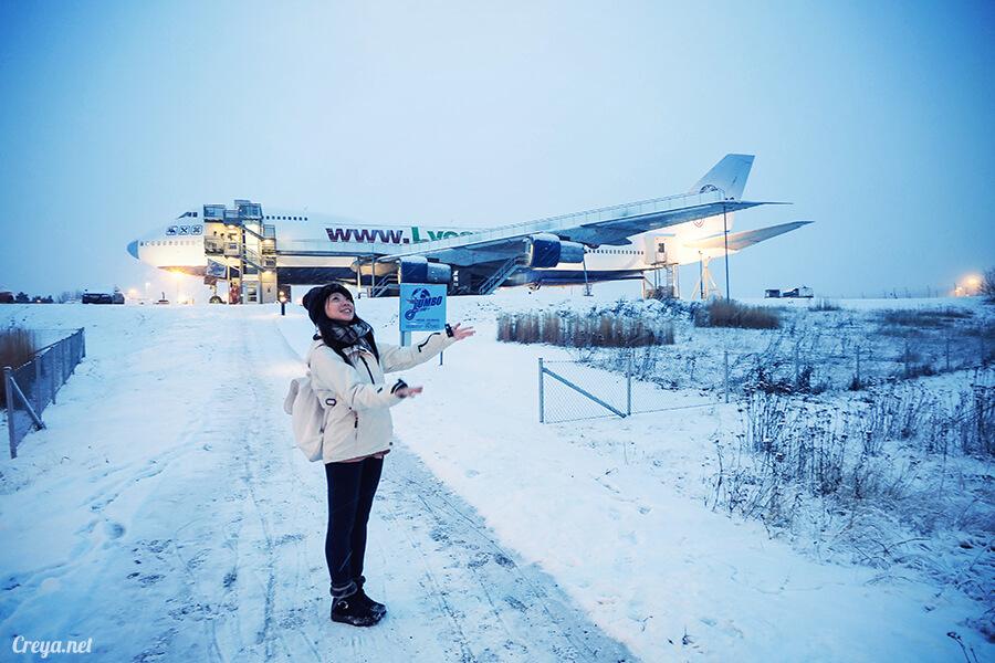 2016.07.08 | 看我歐行腿 | 只載去見周公的飛機,瑞典斯德哥爾摩機場旁的 Jumbo Stay 特色青年旅館01
