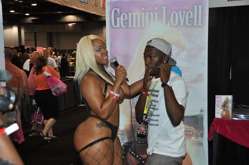 Gemini Lovell Doing An Interview