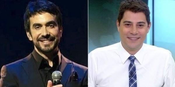 """Padre Fábio de Melo convida Evaristo Costa para comer um """"podrão"""""""