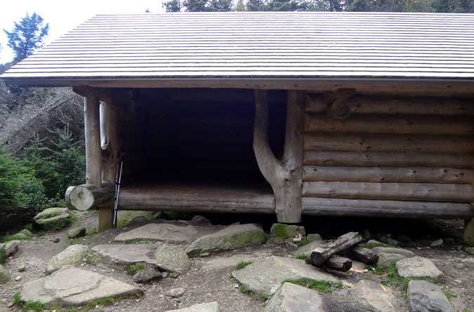 Garfield Ridge Campsite Shelter