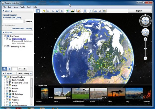 Time to start to try out Google Earth Pro