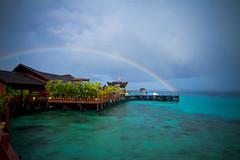 Rainbow at Sipadan Water Village
