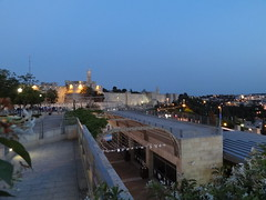 Jerusalem and Mamilla Mall