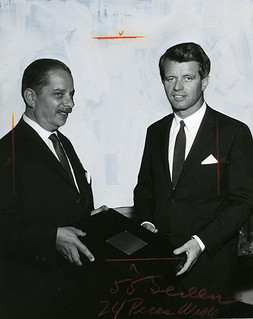 Robert F. Kennedy receives award