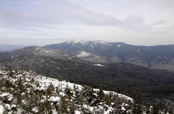 North Kinsman View of Franconia Ridge