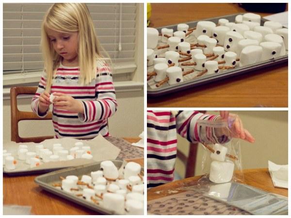 Assembling the Snowmen