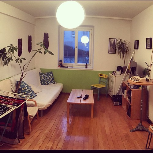 Mit @easylemmons unser #Wohnzimmer @ #Hackerstreet neu eingerichtet.  #schönerwohnen #kleiner3