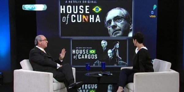 """Cunha diz que não aceita ser comparado a protagonista de """"House of Cards"""""""