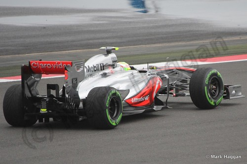 Free Practice 2 at the 2013 British Grand Prix