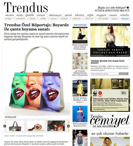Trendus magazine turkey 0114 bags